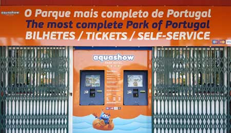 AQUASHOW – Digital self-service ticketing kiosks