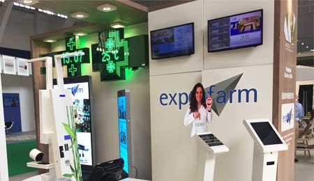 EXPOFARMA 2017: QUEUE MANAGEMENT SYSTEM QMAGINE BY PARTTEAM