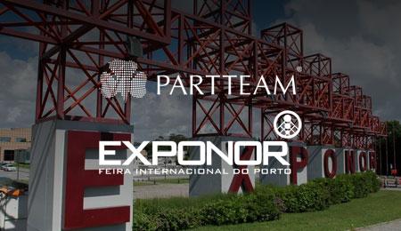 EXPONOR ESTABELECE PARCERIA COM A PARTTEAM