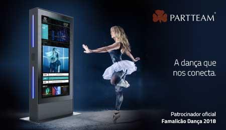 PARTTEAM foi patrocinadora oficial do evento Famalicão Dança 2018