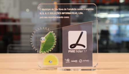 PARTTEAM & OEMKIOSKS RECEIVES SME LEADER AWARD - FAMALICÃO MADE IN ECONOMIC FORUM