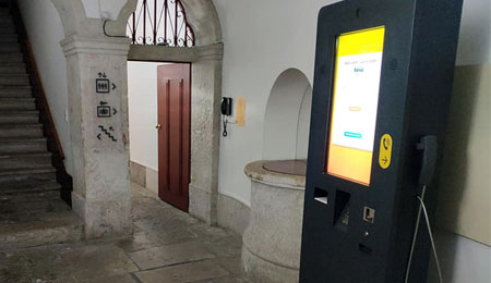 PARTTEAM & OEMKIOSKS Technology for Hotels: Hello Lisbon