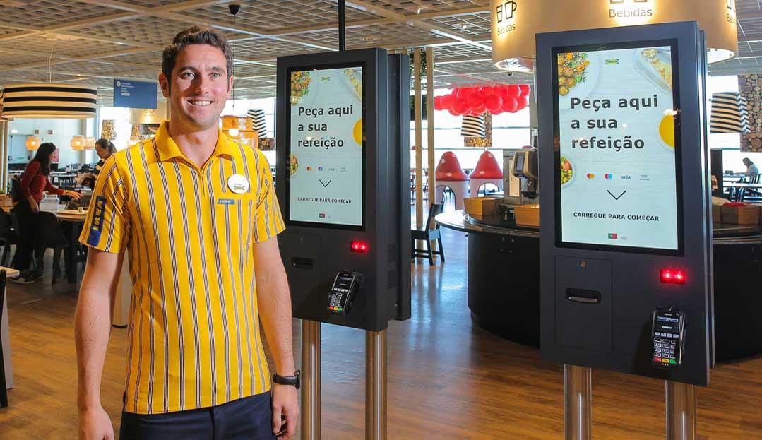 IKEA LOURES MODERNIZA CONCEITO DE RESTAURAÇÃO COM QUIOSQUES SELF-SERVICE PARTTEAM & OEMKIOSKS