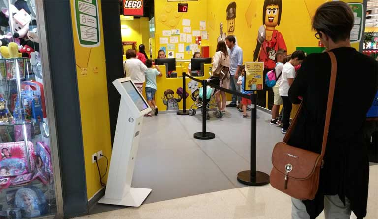 QUEUE MANAGEMENT FOR RETAIL: IKEA / LEGO