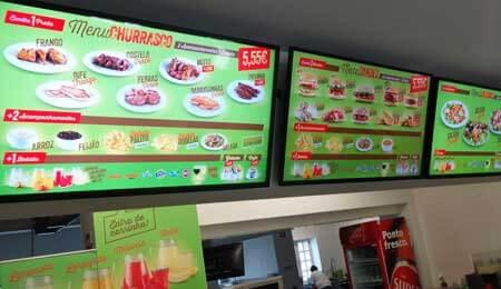 Digital Menu Board for SHIKAN Restaurant