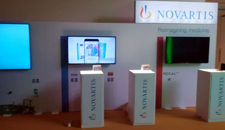 NOVARTIS WITH PARTTEAM & OEMKIOSKS EVALUATION SYSTEM