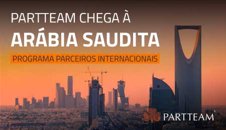 PARTTEAM CHEGA À ARÁBIA SAUDITA