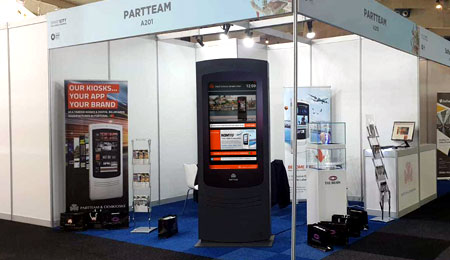 PARTTEAM & OEMKIOSKS was present at Smart City Expo World Congress 2019