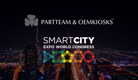 PARTTEAM & OEMKIOSKS present at Smart City Expo World Congress 2019