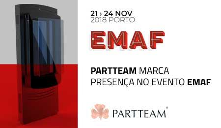 PARTTEAM marca presença na EMAF 2018