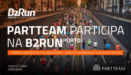 PARTTEAM é parceira e participante na B2RUN PORTO