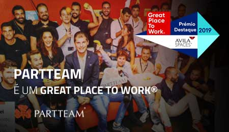 PARTTEAM recebe prémio destaque Great Place To Work 2019