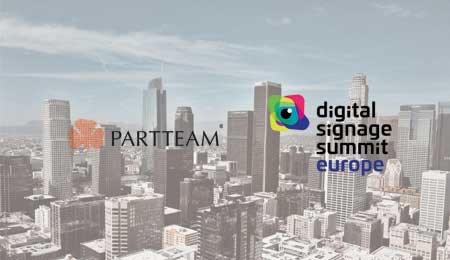 PARTTEAM marcou presença no evento Digital Signage Summit Europe 2018