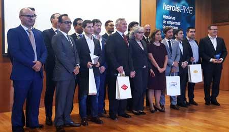 PARTTEAM Recebe Prémio Heróis PME : SIC Notícias + Yunit Consulting