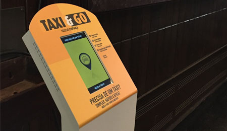 TAXI & GO: CALLING A TAXI THROUGH MULTIMEDIA KIOSKS