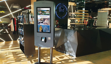 SELF-SERVICE KIOSKS FOR BAZAR DESPORTIVO STORE