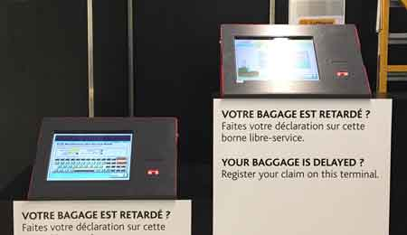 Self-Service Balcony Kiosk for French Airports