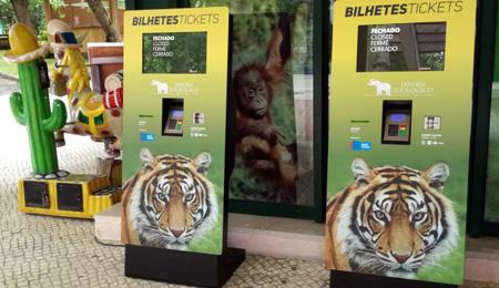 Ticket Kiosks for Lisbon Zoo