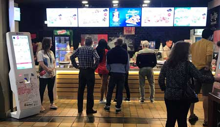Quiosques self-service para o restaurante PIZZA HUT – NORTE SHOPPING