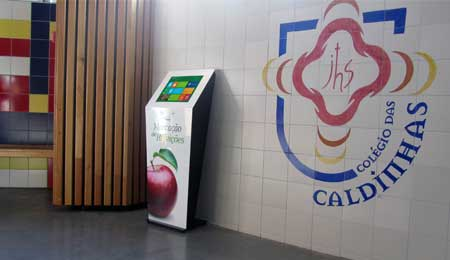 DIGITAL KIOSKS FOR BOOKING SCHOOL MEALS