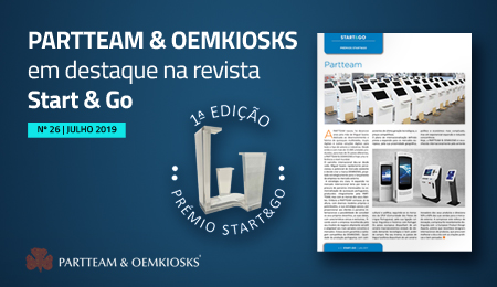 START & GO Digital magazine highlights PARTTEAM & OEMKIOSKS