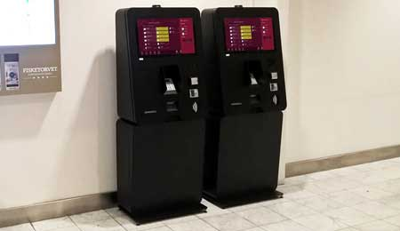 AUTOMATIC PAYMENT KIOSKS FOR SHOPPING IN DENMARK