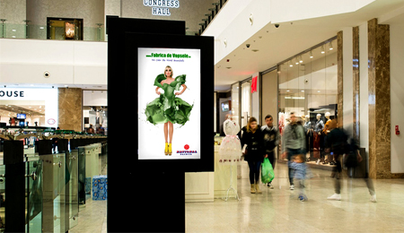 INTERACTIVE KIOSKS FOR SHOPPINGS IN EUROPE