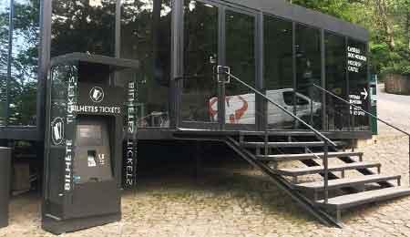 Parques Sintra usam os quiosques self-service da PARTTEAM & OEMKIOSKS