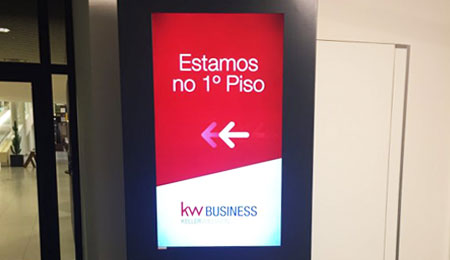 Digital Signage Solution for KW Business Company