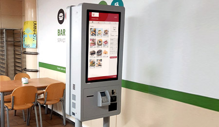 UNIVERSITY OF MINHO SELF-SERVICE CATERING KIOSKS