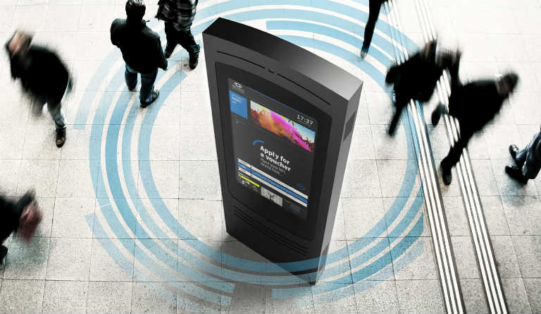 DIGITAL NETWORK OF WIFI BILLBOARDS - URBIOTIC WIFI