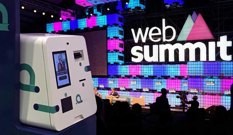 Os nossos produtos na Web Summit