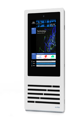 QMAGINE - Digital Signage kiosk Alpen