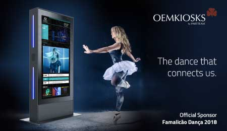PARTTEAM & OEMKIOSKS was official sponsor of the Famalicão Dança 2018 event