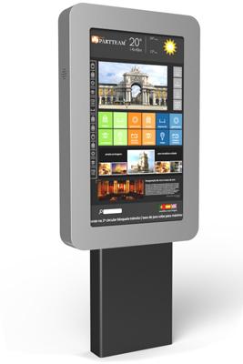QMAGINE - Digital Signage kiosk Flagv3