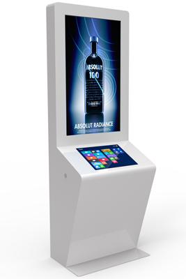 QMAGINE - Digital Signage kiosk Impactv