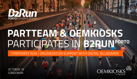 PARTTEAM & OEMKIOSKS is a partner and participant in B2RUN PORTO