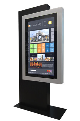 QMAGINE - Digital Signage kiosk Wings