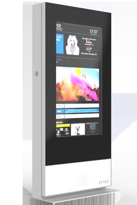 QMAGINE - Digital Signage kiosk Zytec