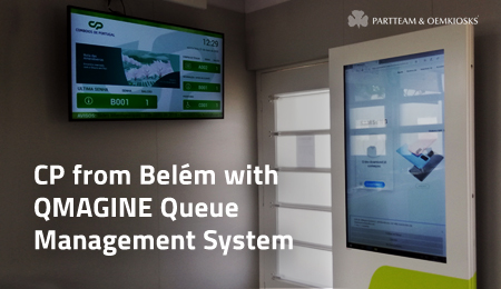 CP from Belém requalifies service with QMAGINE queue management system