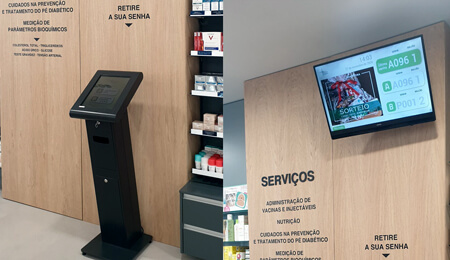 Farmácia Nogueira invests in QMAGINE queue management system