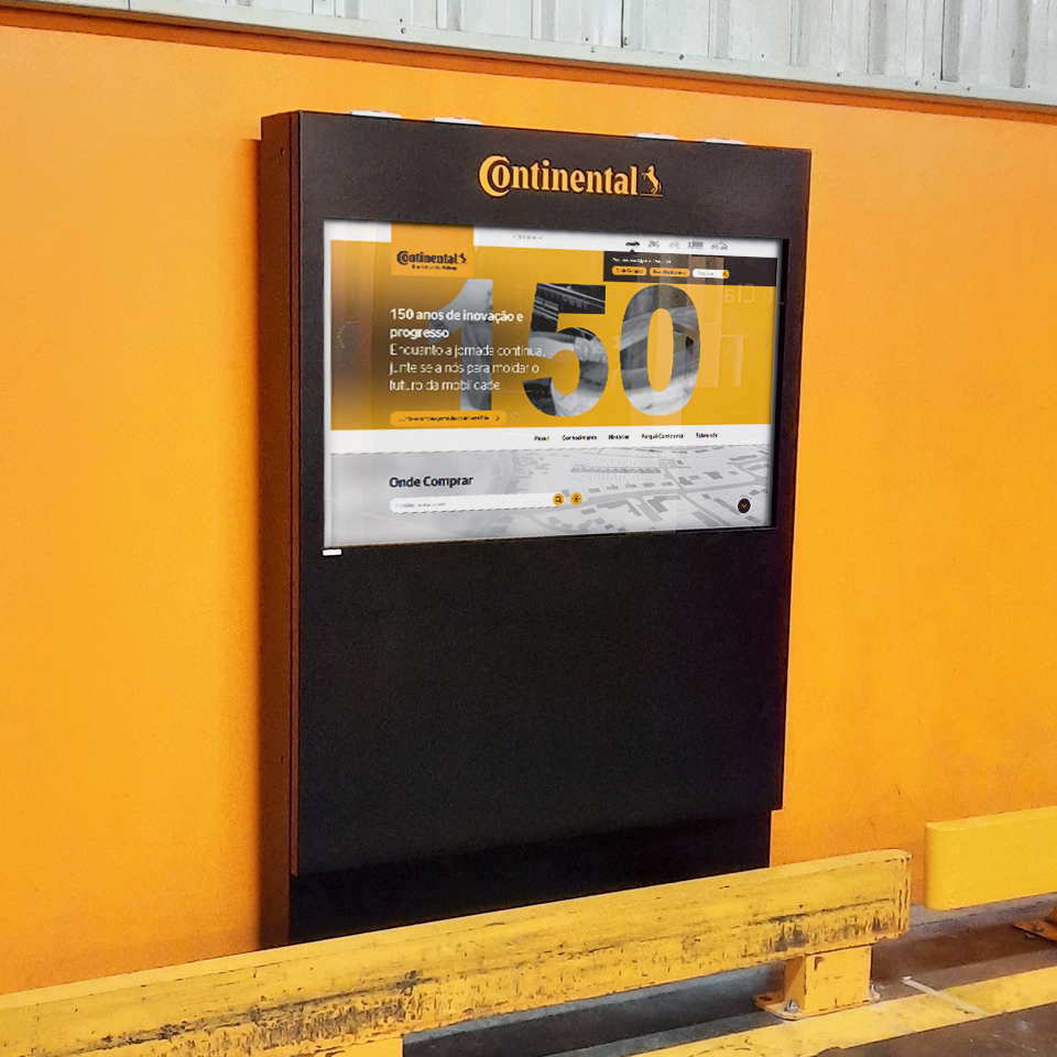 Continental Mabor uses TURIN kiosks for industry