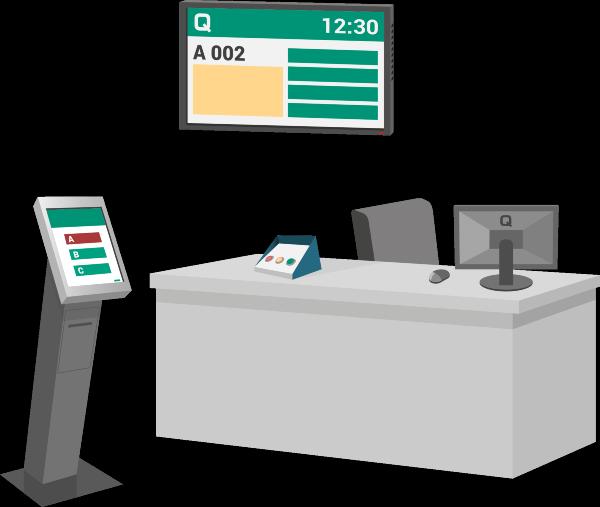 QMAGINE   Ticket dispenser kiosks