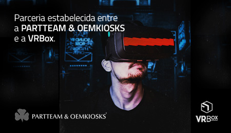 PARTTEAM & OEMKIOSKS ESTABELECE PARCERIA COM VRBOX