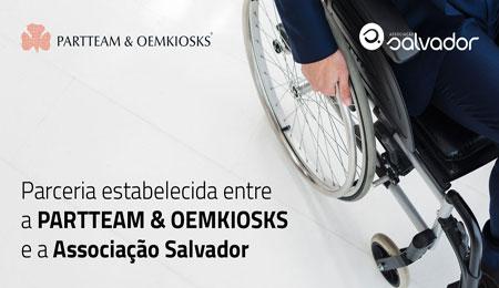 PARTTEAM & OEMKIOSKS ESTABELECE PARCERIA COM ASSOCIAÇÃO SALVADOR