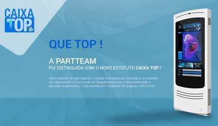 PARTTEAM DISTINGUIDA COM ESTATUTO CAIXA TOP