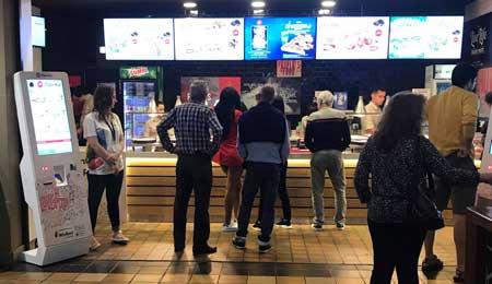 QUIOSQUES SELF-SERVICE PARA O RESTAURANTE PIZZA HUT – NORTE SHOPPING