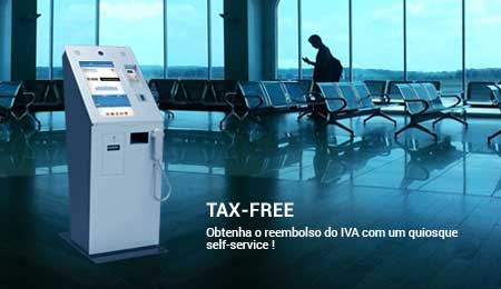 TAX FREE: QUIOSQUES SELF-SERVICE PARA REEMBOLSO DO IVA