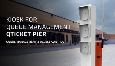QTICKET PIER - KIOSK FOR QUEUE MANAGEMENT AND ACCESS CONTROL FOR TRANSPORT VEHICLES